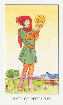 PageOfPentacles
